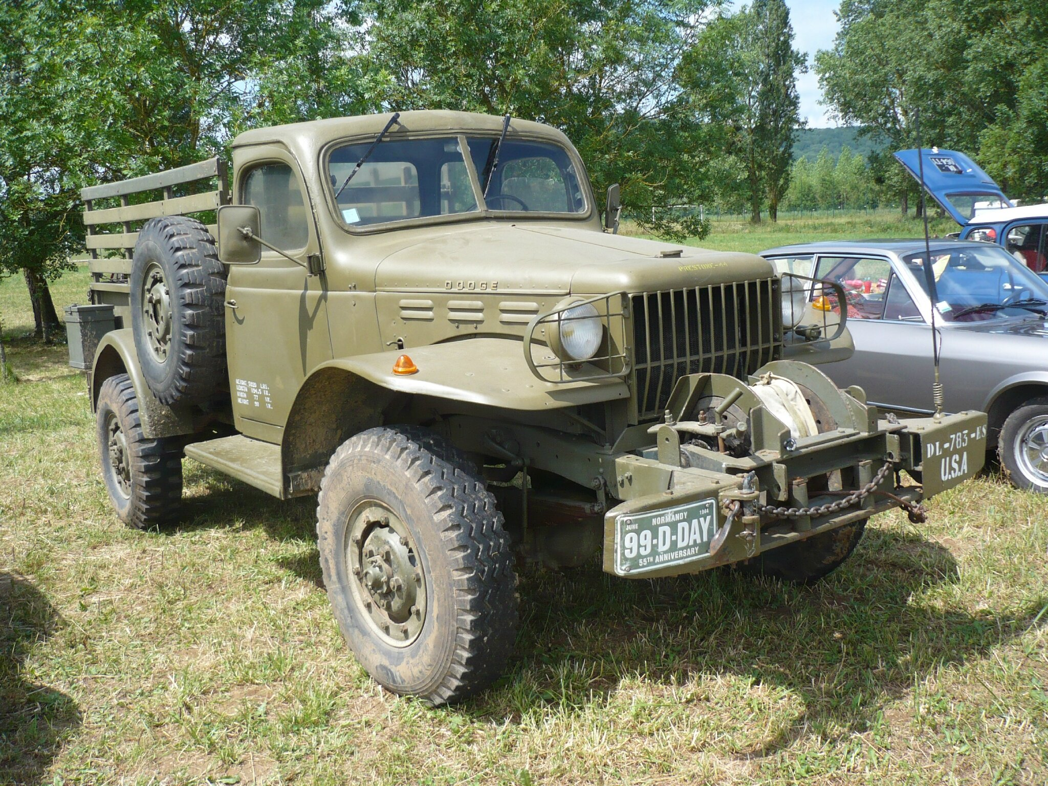 DODGE WC Weapons Carrier sans treuil pick-up 1944 Madine (1)