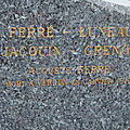 Ferre auguste louis (levroux) + 26/01/1917 esnes en argonne (55)
