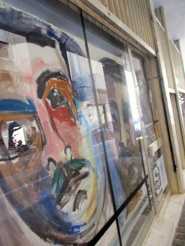 portrait couleur avec reflets
