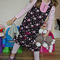 robe bicolore H - Mademoiselle