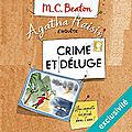 Crime et déluge (agatha raisin enquête 12) de m.c. beaton
