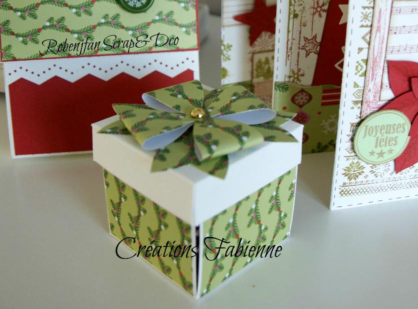 Ensemble mini et boites Noël ( suite )