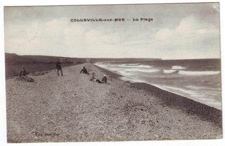 14 - COLLEVILLE SUR MER- La plage