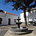 Place san francisco, quartier historique de telde, île de gran canaria.