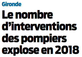2018 09 24 SO Le nombre d'interventions explose en gironde