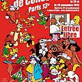 Salon de la bande dessinée - 28/29 novembre 2015 - mairie du 13e arrdt