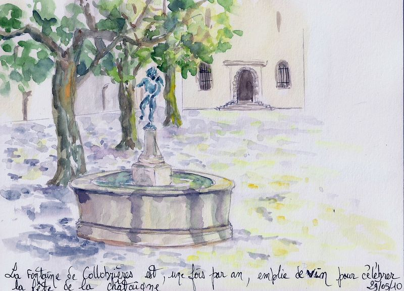 Fontaines -Collobrières- (Carnet voyage n°2)