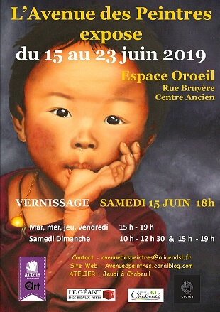 EXPOSITION 2019 ESPACE OROEIL CENTRE ANCIEN CHABEUIL