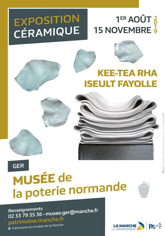 Affiche A3 - EXPO CERAMISTES GER - 2019