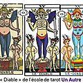 ecole de tarot - arcane du diable