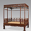 Qing dynasty furniture at christie's new york, 26 march 2010