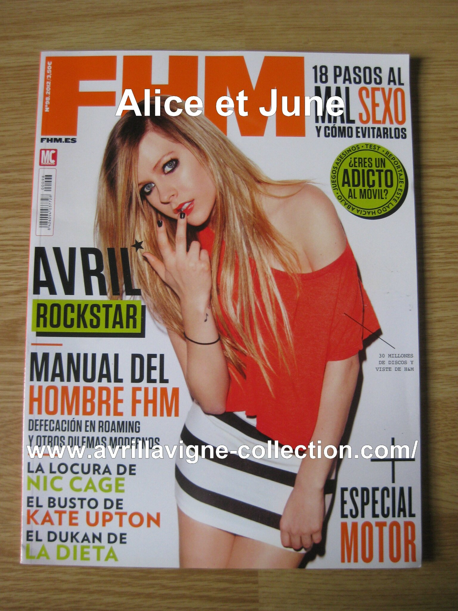 FHM magazine-version espagnole (mars 2012)