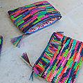 Trousse en sacs plastique(s) recyclés-crochet-récup-recyclage- DIY-La chouette bricole (3)