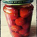 Bocaux de tomates cerises 🍅