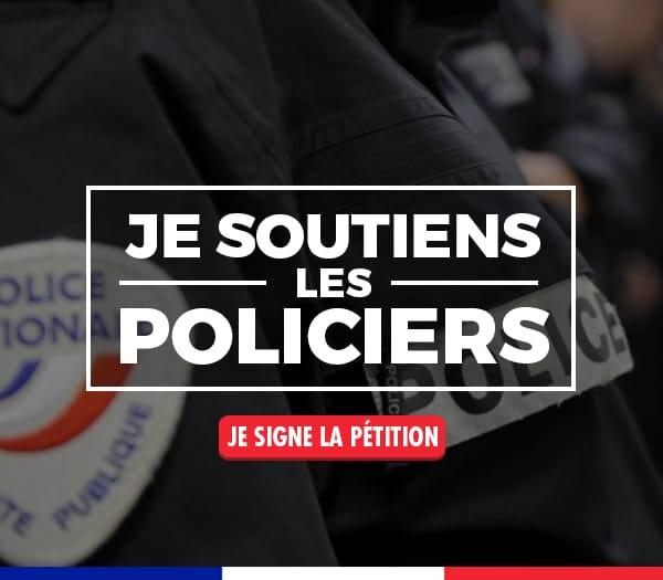 Je soutiens la police