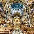 Rt- en ruines mais libre, l'église d'alep accueille sa première messe de noël
