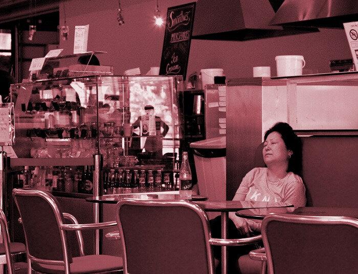 Café Beaubourg, Paris - Photo ML Henry