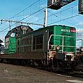 BB 66103 en livrée verte Fret, Bordeaux
