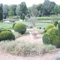 Château de Cormatin 2009 ,le jardin de topiaires