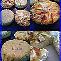 Petites tartelettes de riz