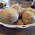 Petits pains rapides au yaourt