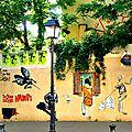 Butte aux cailles Street art trompe l'oeil