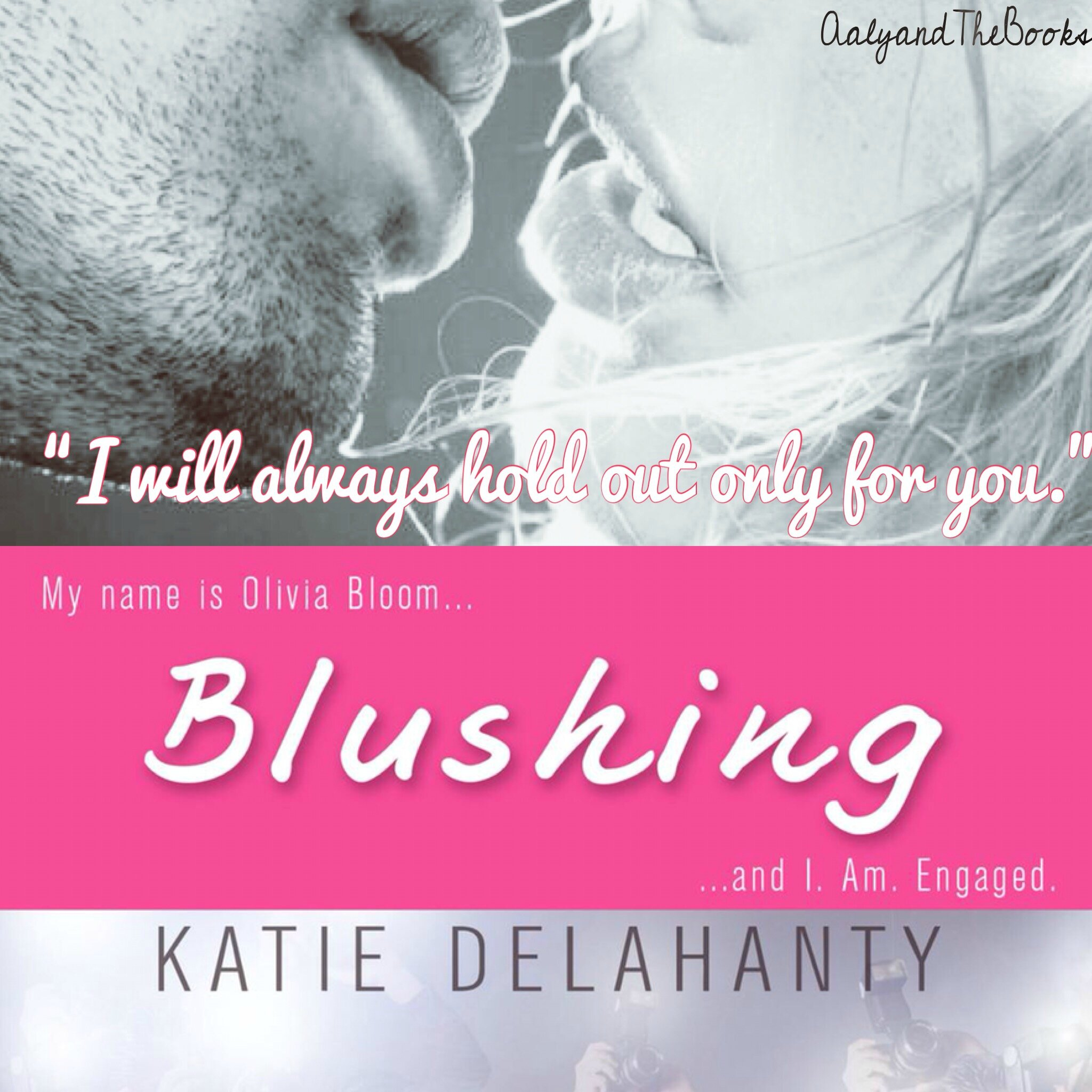 Review : Blushing (The Brightside #2) by Katie Delahanty