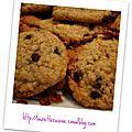 Cookies au pépites de chocolat
