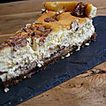 Cheesecake aux snickers
