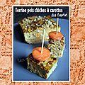 Terrines pois chiches & carottes au cumin