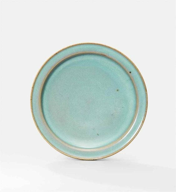 A Jun blue-glazed dish, Northern Song-Jin Dynasty (960-1234)
