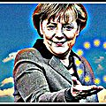 Angela merkel, chancelière de l'europe