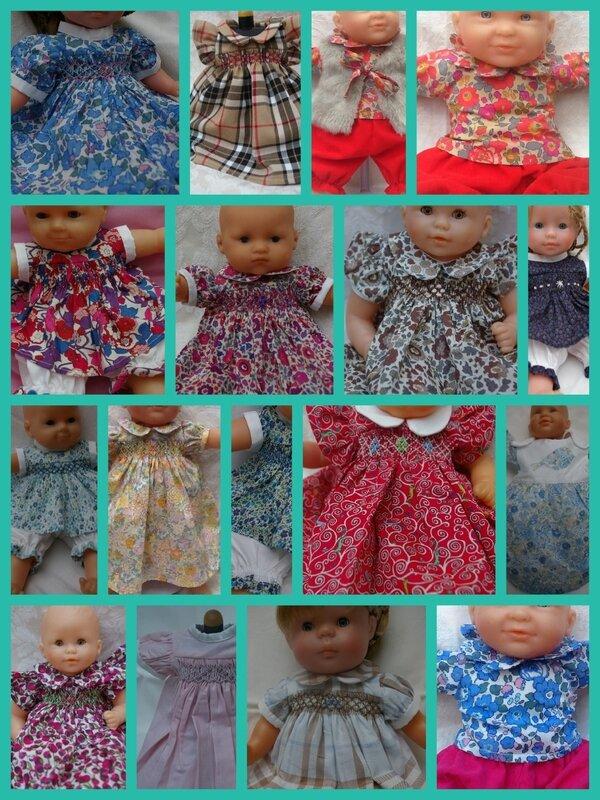 Vous cherchiez des Habits de poupées ? C'est par ici!