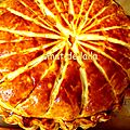 Galette des rois au gout orange