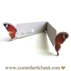 papillon-porte-message www.coeurdartichaut.com