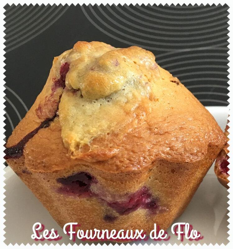 Gâteaux moelleux mascarpone, cassis, framboise 2