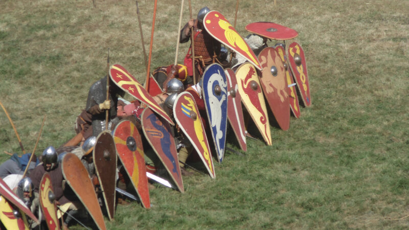 Mur_de_boucliers_normands_Norman_infantry_(xi_century)