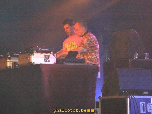 DJ or NOT dour 2007 tente Easpack core Stage