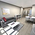 Projet amenagement appartement marseille