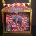 Diorama, shadow box circus !