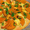 Pizza chèvre butternut