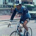 Champions cyclistes des années 70-80 :g.saronni et g.battaglin