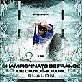 Affiche championnats de france slalom 2010 à bourg st maurice