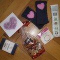 Cadeaux envoyés à Gigitte77 (Swap Aventure Humaine)