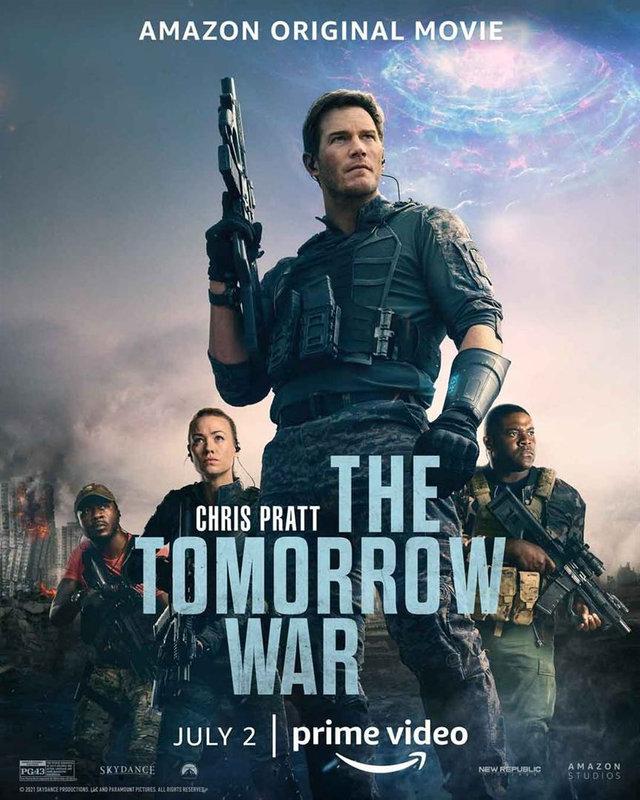 Tomorrow War affiche