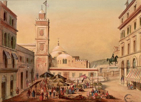 Alger, place Mac-Mahon, 1845-1847