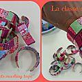 Bracelets décorés pour la fête des mamans