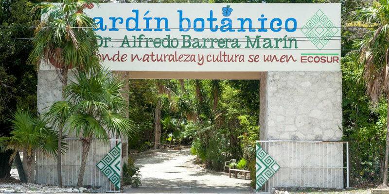 Botanical-Garden-Puerto-Morelos-entrance