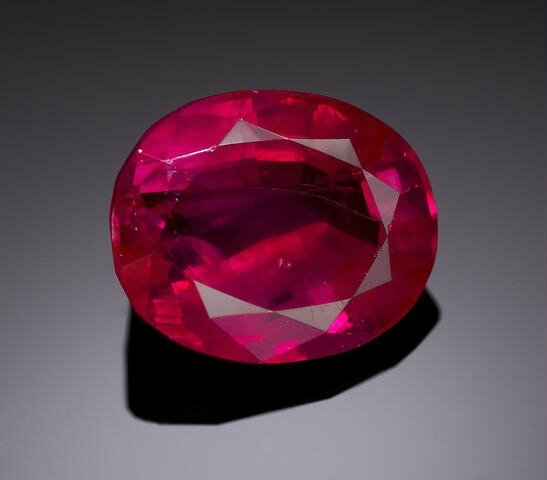 Natural Burmese Ruby, Burma.Photo Bonhams.