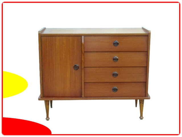 commode, buffet vintage teck 1960